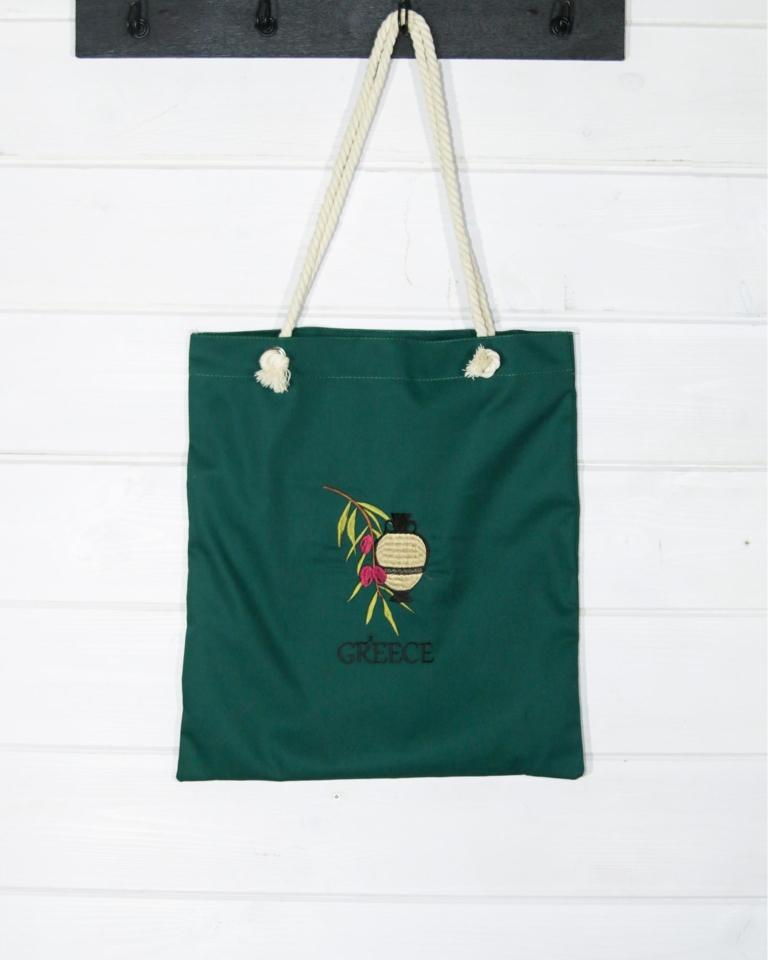 """Τσάντα αγορών """"Αμφορέας"""""""