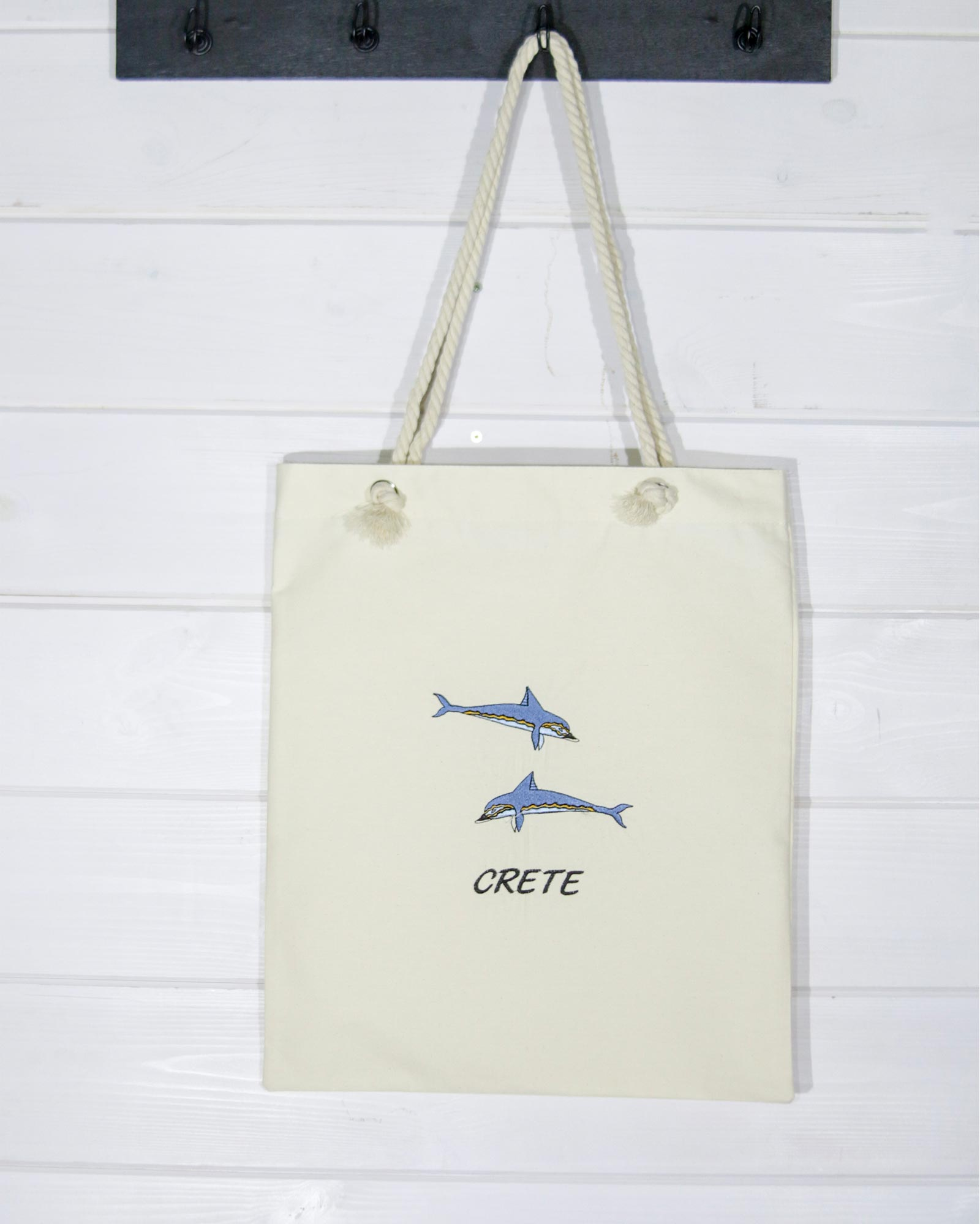 """Τσάντα αγορών """"Δελφίνια της Κνωσού"""""""